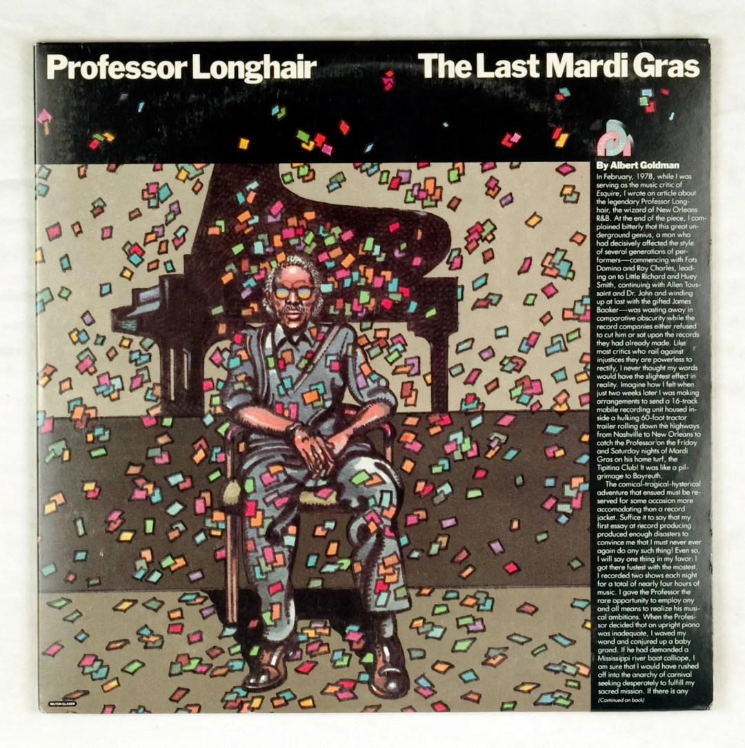 Professor Longhair Vinyl The Last Mardi Gras 1982