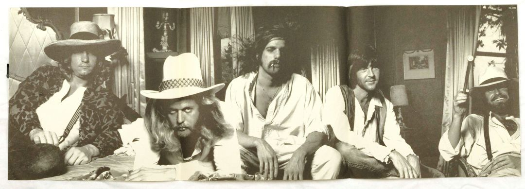 Eagles Vinyl Hotel California 1976 w/ Poster