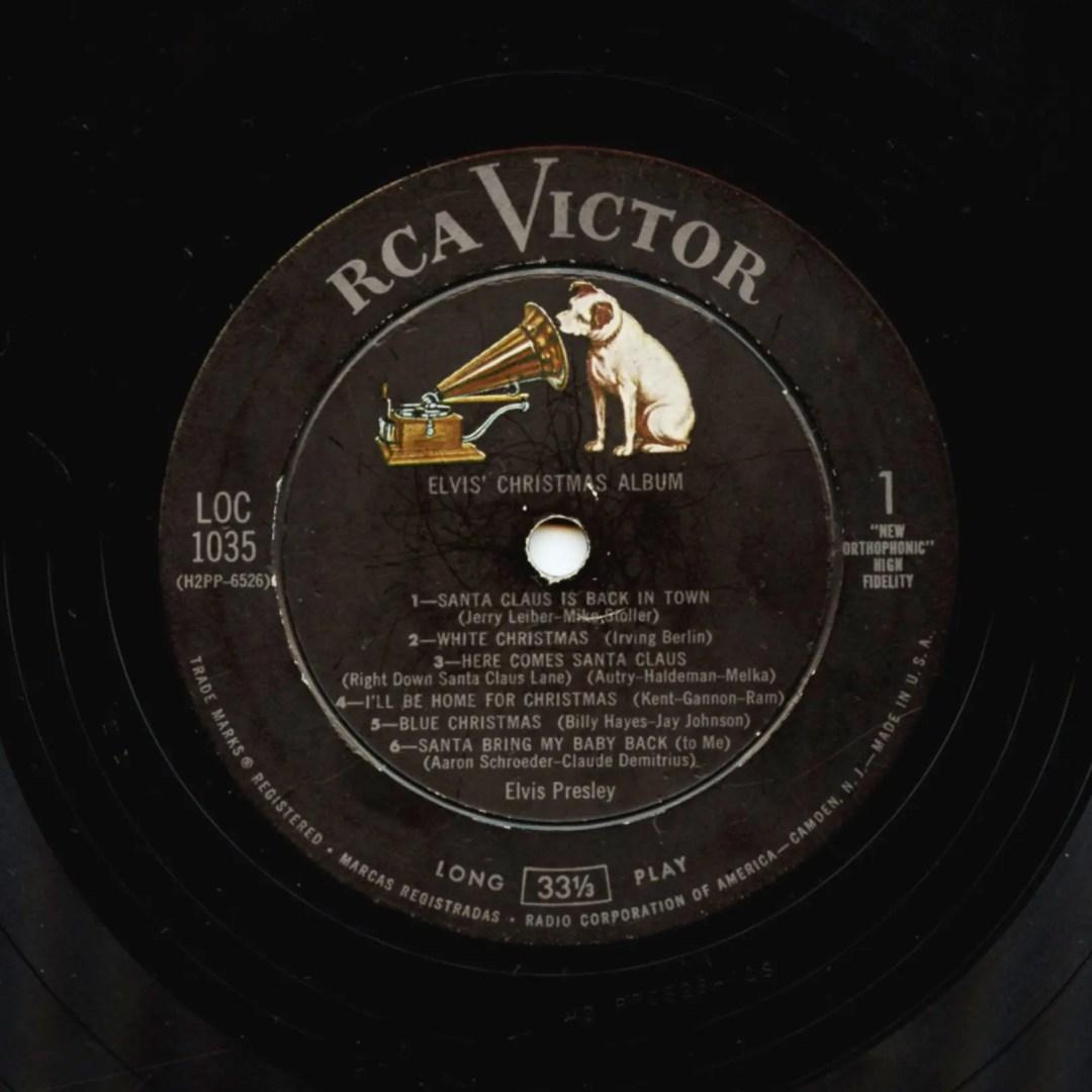 Elvis Presley Vinyl Elvis' Christmas Album 1957