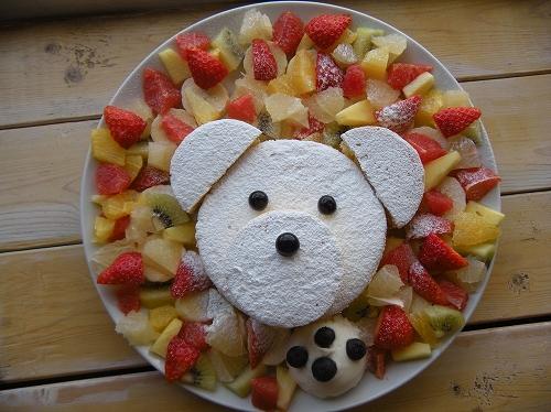 しろくまパンケーキ