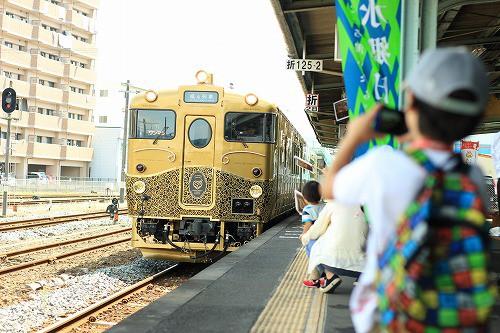 或る列車は、沢山の笑顔を届けてくれました!