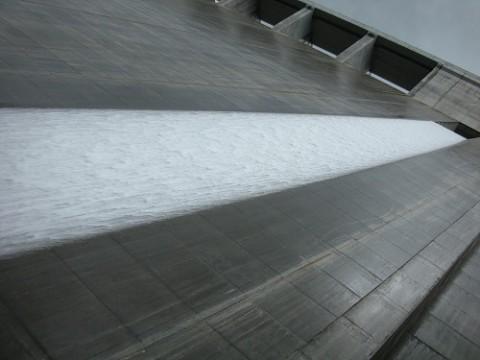 急こう配な大山ダム。一見の価値ありです。
