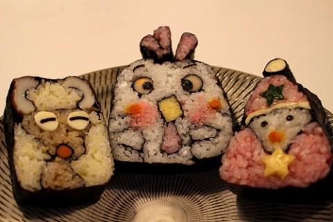 彌助すし本庄町店三代目が握るユニークな飾り巻き寿司