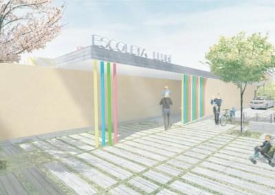 CONCURSO DE IDEAS PARA LA CONSTRUCCIÓN DE UNA ESCOLETA EN LLUBÍ, MALLORCA