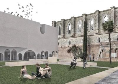 CONCURSO INTERNACIONAL DE IDEAS PARA UN MUSEO EN LA ABADÍA DE SAN GALGANO, CHIUSDINO (ITALIA)