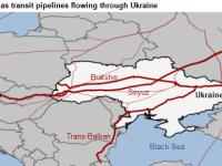 In the past as much as 80% of natural gas for Europe passed through Ukraine.