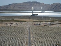 Futuristic Solar Power Plant Needs NatGas to Make Electricity, Money