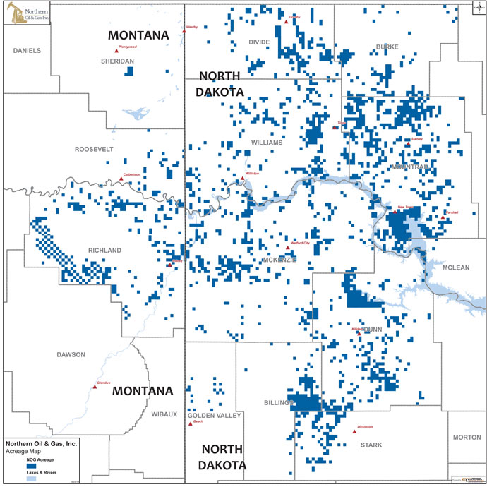Northern Oil and Gas: Large Non-Operator in Bakken/Three Forks - Oil