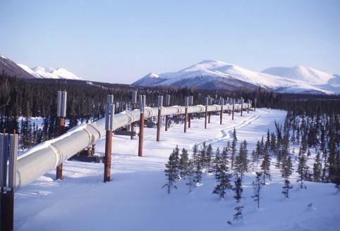Trans-Alaska oil pipeline