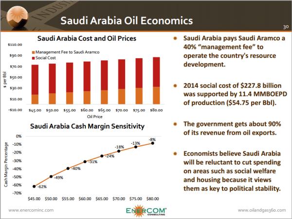ECI Saudi Oil Economics
