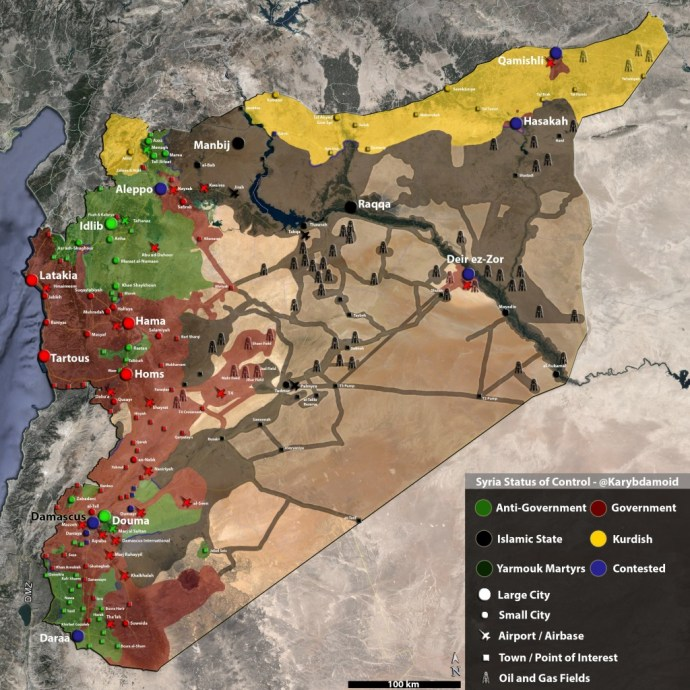 ISIS Losing: Territory and Revenue Down 60%, 80% - IHS