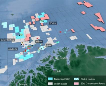 Statoil Offshore Position