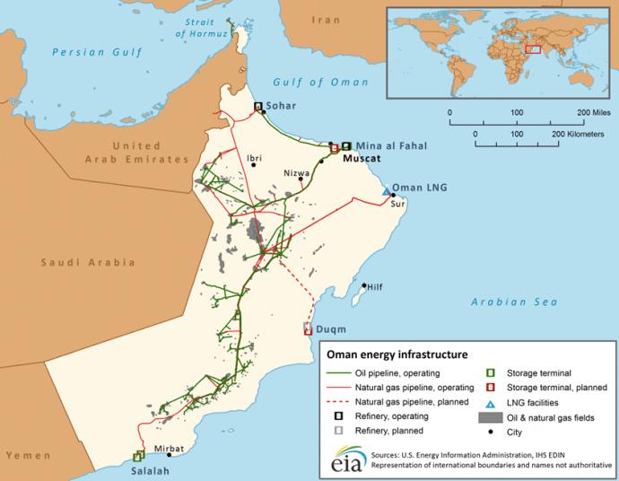 BP Starts Production from Oman's Giant Khazzan Field