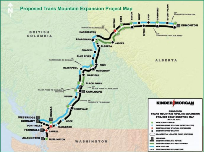 Energy Upside: kmi-kinder-morgan-proposed-trans-mountain-expansion