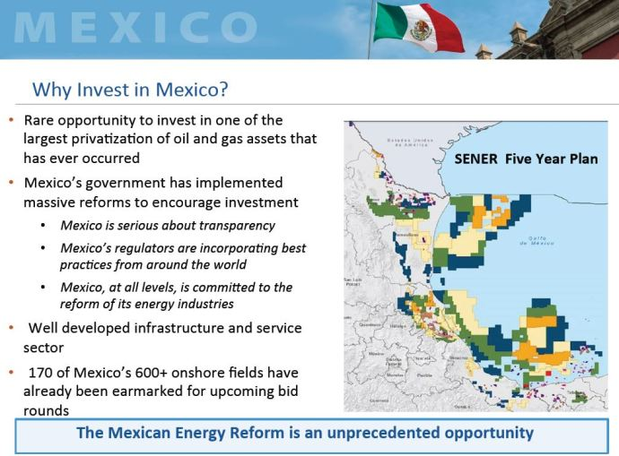 Mexico Onshore Oil and Gas Auction Elevates to Round 2.2