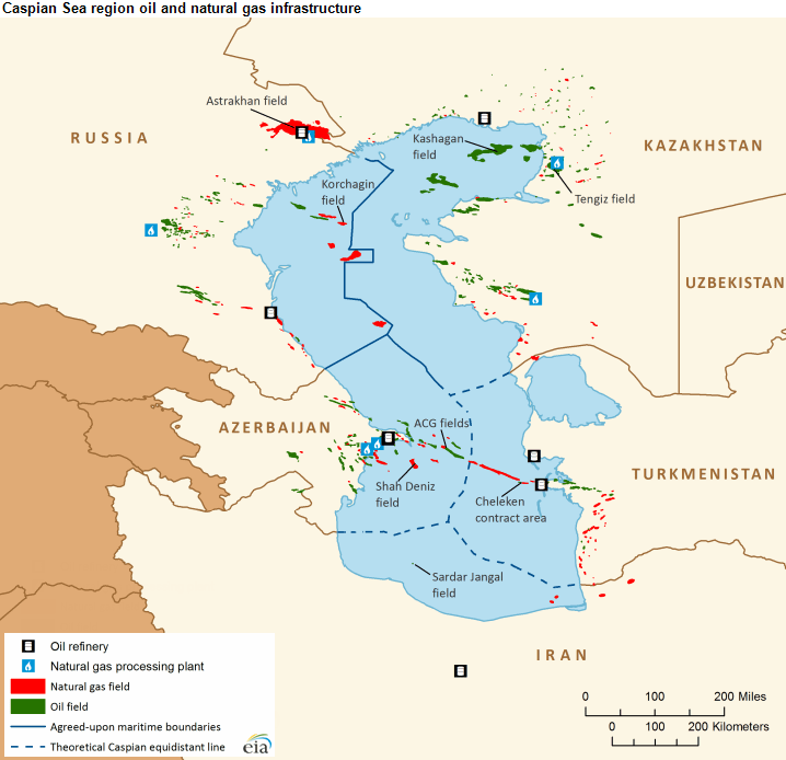 ecology petroleum and caspian sea The caspian's strategic importance lies in its abundance of energy resources  the sea contains large volumes of oil and natural gas reserves.