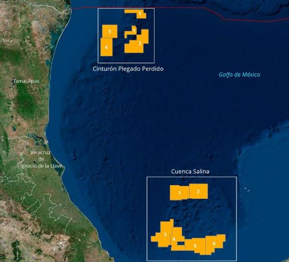 Mexico Successfully Completes its First Deepwater GOM Auction
