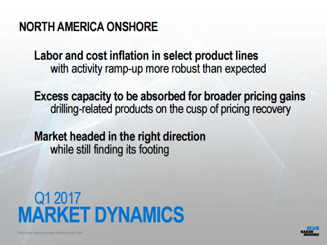 Sustained Mid-$50 Oil Needed for Service Pricing Recovery: Baker Hughes