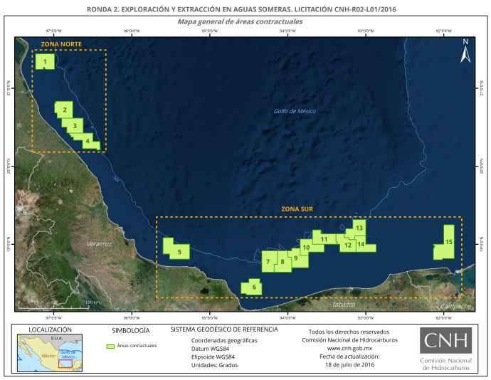 Mexico Announces Surging Interest in Offshore