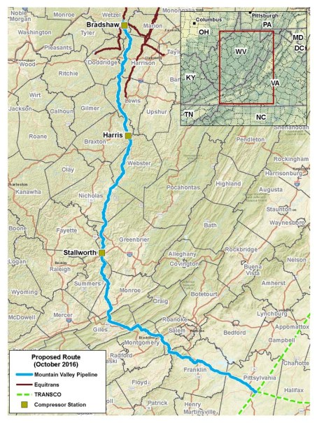 More Marcellus Takeaway Inches Closer: FERC Releases Mountain Valley Pipeline EIS