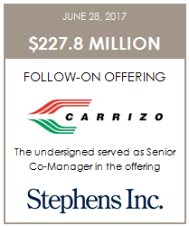 Carrizo Prices Offering of Stock, Debt