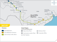 New Permian and Eagle Ford Takeaway: DCP Midstream Expansion of Sand Hills NGL Pipeline Now in Service