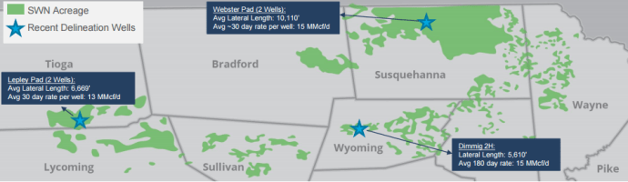 Southwestern Energy: Shifting to Appalachia