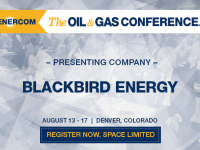 EnerCom's 2017 Conference Day Two Breakout Notes: Blackbird Energy
