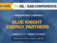 Cushing Storage Operator Blueknight Energy Partners Presenting at EnerCom Conference