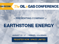 EnerCom's 2017 Conference Day Two Breakout Notes: Earthstone Energy