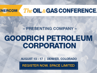 EnerCom's 2017 Conference Day One Breakout Notes: Goodrich Petroleum
