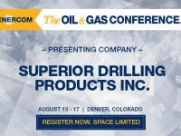 179% Increase in Tools Sales for Superior Drilling Products' Q2 Update