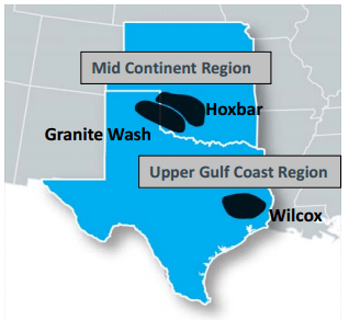 Unit Corporation: Drilling Granite Wash, Hoxbar and Wilcox; All 9 Boss Rigs in the Field