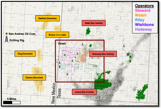 Yuma Energy Looks toward the San Andres Portion of the Permian