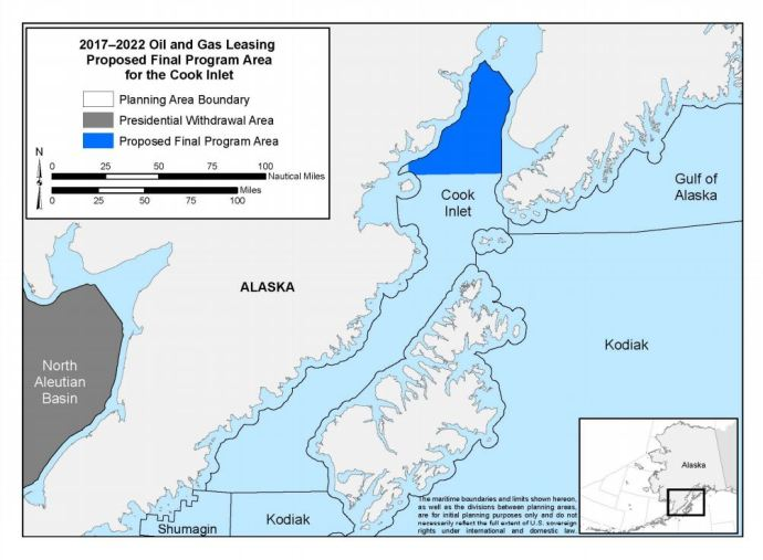 Cook Inlet Federal Lease Sale Yields more than $3 Million in High Bids