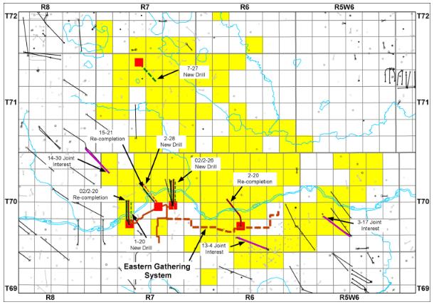 Blackbird Energy Adds Montney Rights, Wells