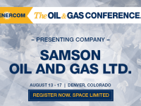 EnerCom's 2017 Conference Day One Breakout Notes: Samson Oil & Gas