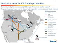 Suncor Market Access Map