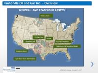 Panhandle Oil and Gas Inc. Asset Overview, Oct. 2017