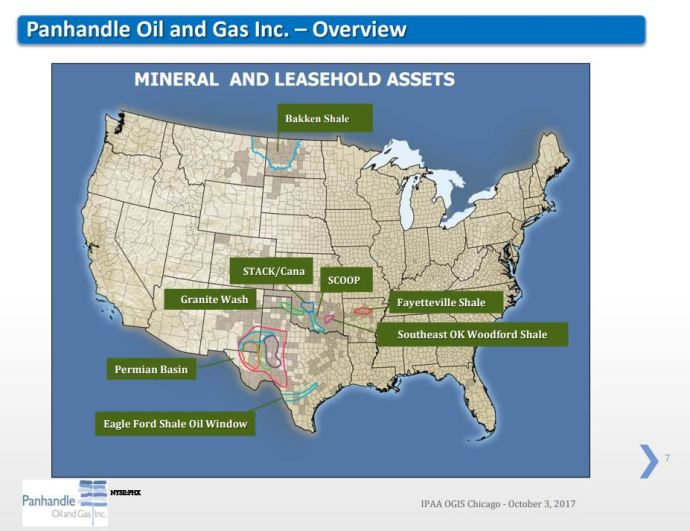 Panhandle Oil and Gas Q4/FY2017 Results