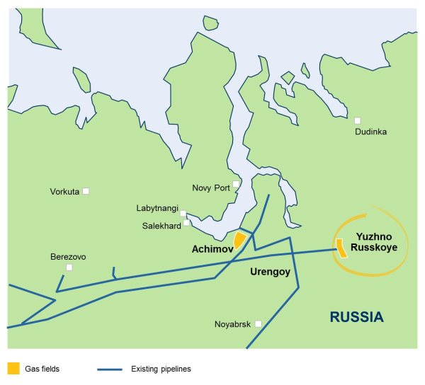 OMV Signs $2 Billion Siberian Gas Deal with Uniper SE