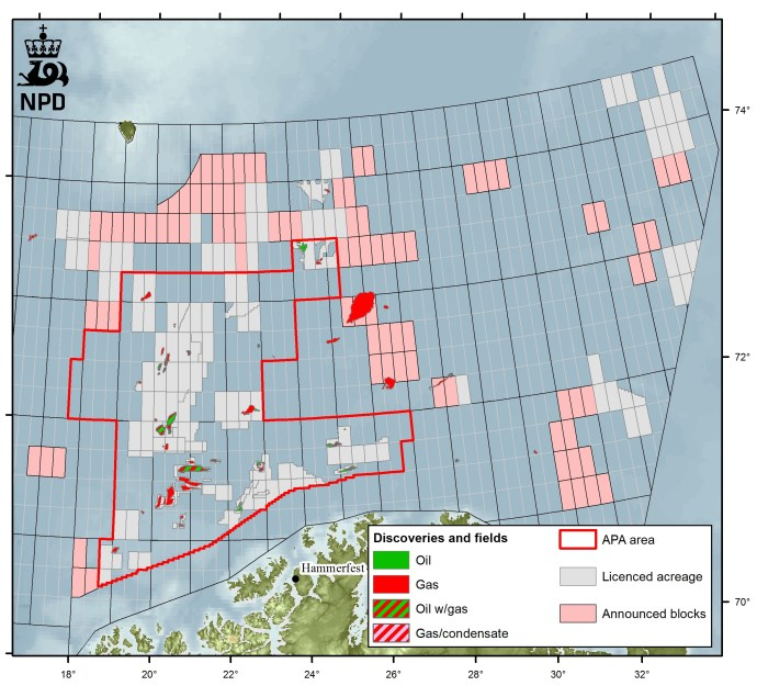 Norwegian Barents Sea Cools as Oil Companies Look Elsewhere