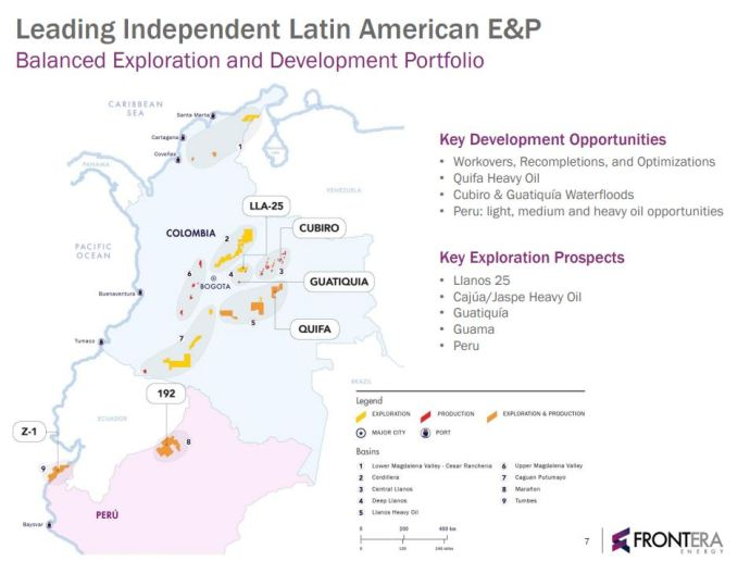 Frontera Energy Exits 2017 with 71,015 BOEPD