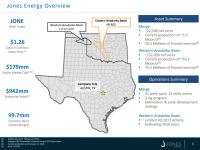 Jones Energy Overview, Feb. 2018