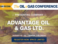 Montney Producer Advantage Oil & Gas Set to Present at The Oil & Gas Conference