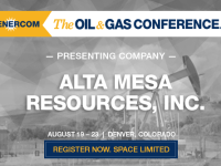 Alta Mesa Resources to Present at The Oil and Gas Conference