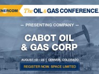 Cabot Oil and Gas Corporation Set to Present at The Oil and Gas Conference