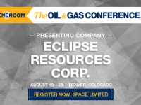 Eclipse Resources to Present at The Oil and Gas Conference