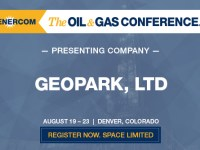GeoPark Ltd. to Present at The Oil and Gas Conference