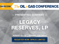 The Oil and Gas Conference Presenting Companies: Legacy Reserves